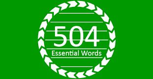 نقش کتاب 504 در یادگیری لغات انگلیسی